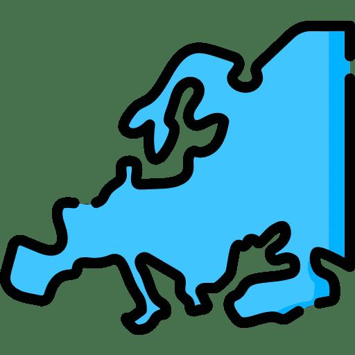 Licenser utanför Europa